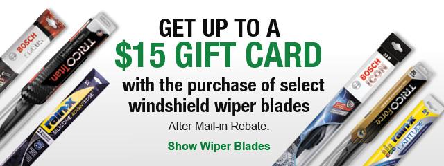 Show Wiper Blades